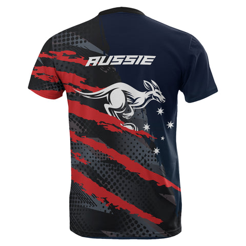 Strong Aussie All Over Print T-shirt - MRH