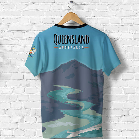 Australia - Queensland All Over Print T-shirt - MRH