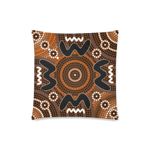 Australia Pillow Covers Aboriginal