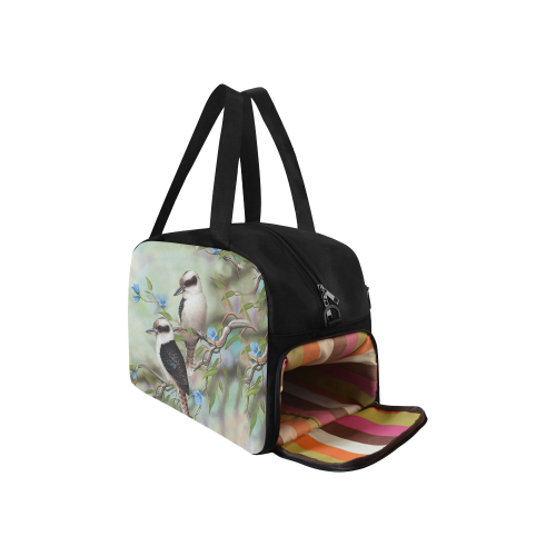 1stAustralia Travel Bag - Kookaburra Bag Royal Bluebell Landscape Art