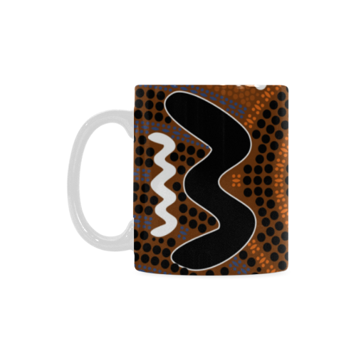 1stAustralia Mugs - Aboriginal Dot Painting Mugs Ver03