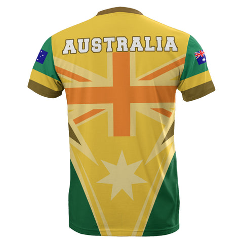 National Colours Version - Australia Unisex T-shirt - MRE