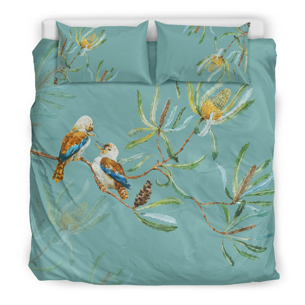 Bedding Set Australia Kookaburra Lover Size King