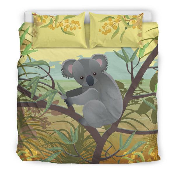 1stAustralia Bedding Sets - Koala Bed Painting Landscape Art Sets - K5