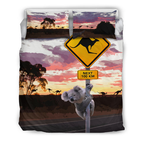 Image of Kangaroo Bedding Set, Koala Bedding Set