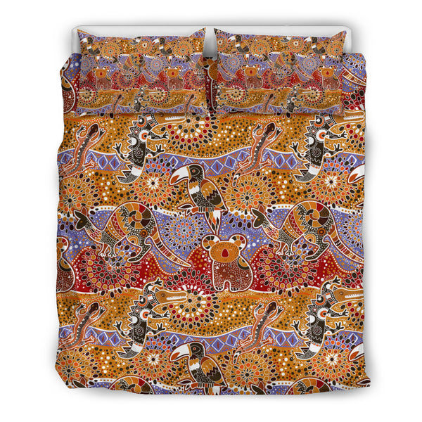 Australia Bohemian Duvet Cover Set Animals