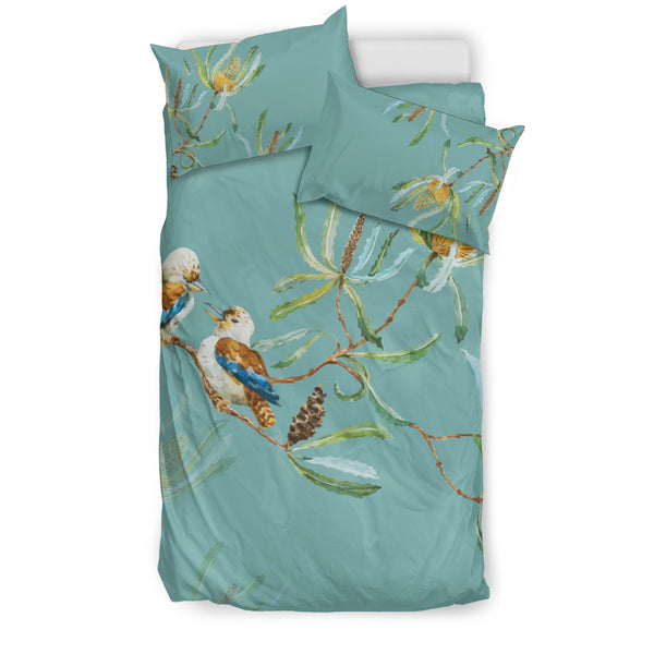 1stAustralia Bedding Sets - Kookaburra Bed Couple Lover Sets - K5