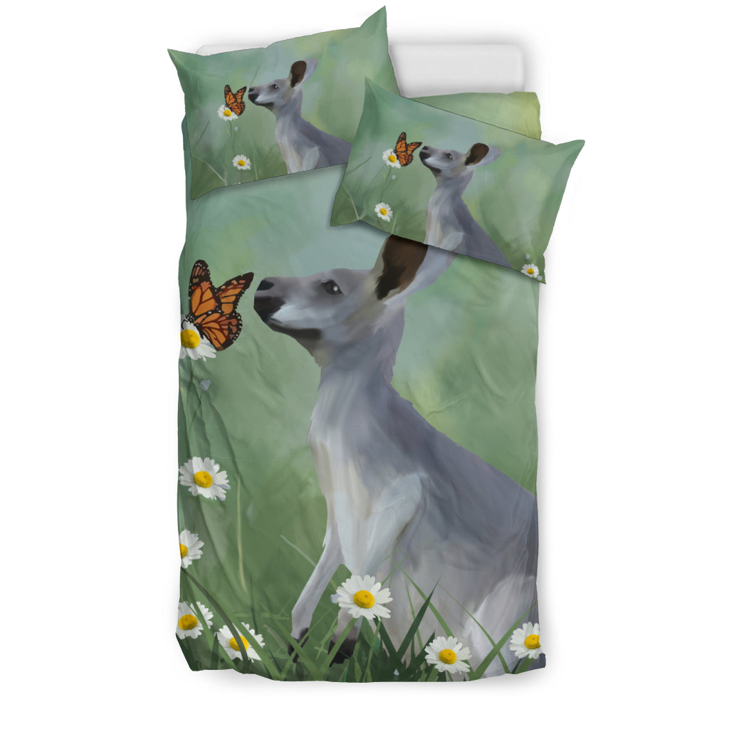 Kangaroo Butterfly Bedding Set Australia - Twin size