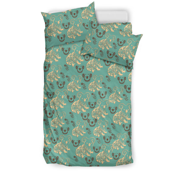 Australia Koala Pattern Bedding Set