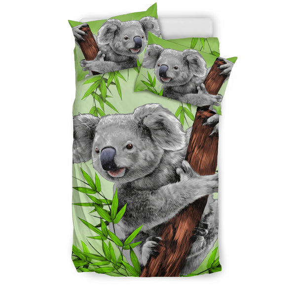1stAustralia Bedding Sets - Koala Bed Happy In Tree Painting Sets - Th9