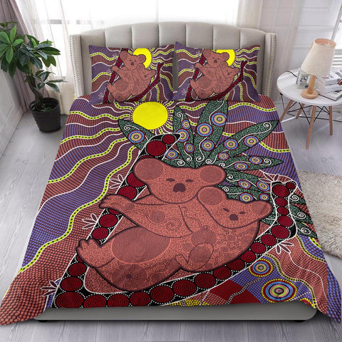 Australia Bedding Set - Aboriginal Koala