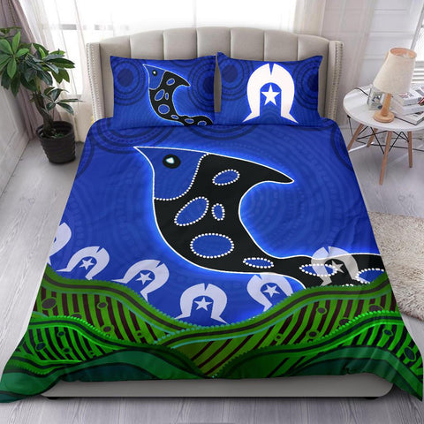 1stAustralia Bedding Set - Torres Strait Dot Patterns Fish