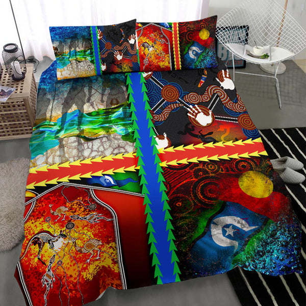 1stAustralia Bedding Set - Aboriginal Mix Ver01 - BN1518