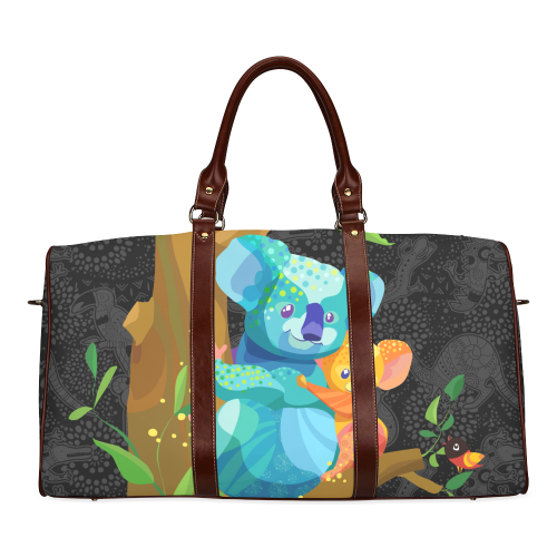 1stAustralia Travel Bags - Koala Bag Family Cartoon - Waterproof