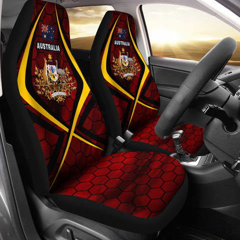 Image of Australia Bloody Oath Car Seat Covers - MRH