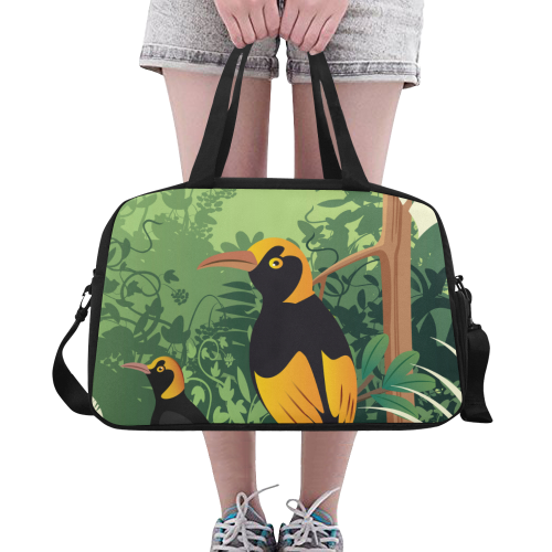 Australia Weekend Travel Bag Regent Bowerbird