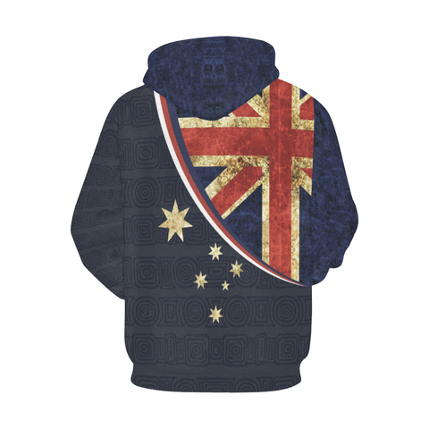 Love Australia - AUSH1 All Over Print Hoodie - BN15