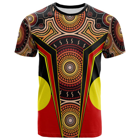 1stAustralia T-Shirt - Aboriginal With Dot Painting Art - BN17