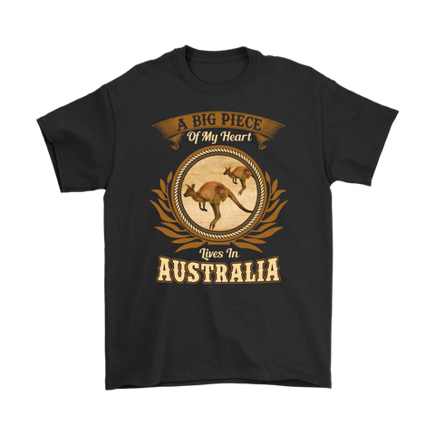 1stAustralia T-Shirt - Kangaroo T-Shirt A Big Piece - Unisex - Th70