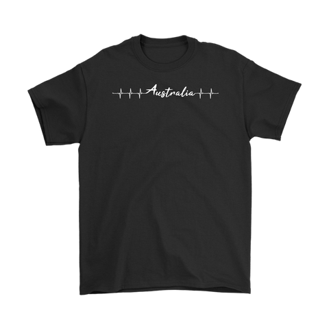 Image of Australia T-shirt Heartbeat Th2