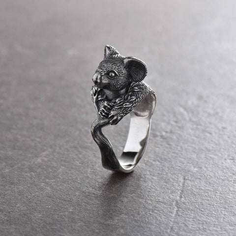 Image of Retro Australia Koala Ring Koala Gift