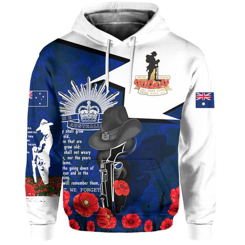 1stAustralia Hoodie Anzac Day 2020, Lest We Forget - A7