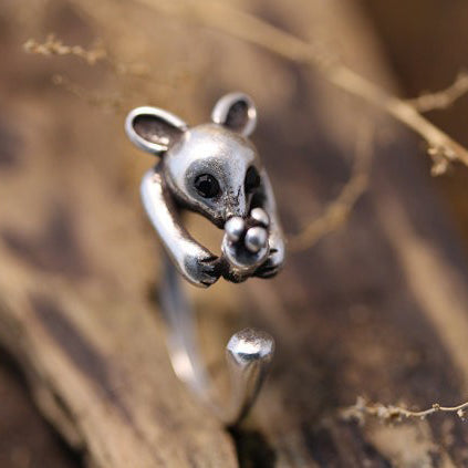Image of Retro Australia Kangaroo Rings Adjustable