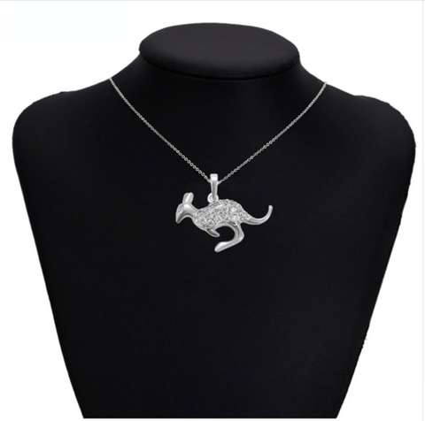 Image of Australia Kangaroo Necklace  Pendant For Women Jewelry Gifts R9