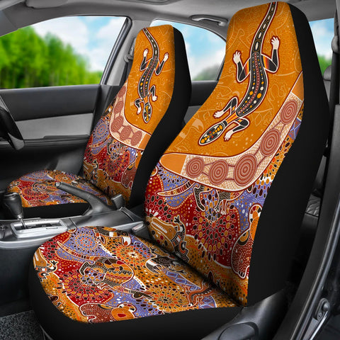 Australia Car Seat Covers - Australia Pattern - BN1401