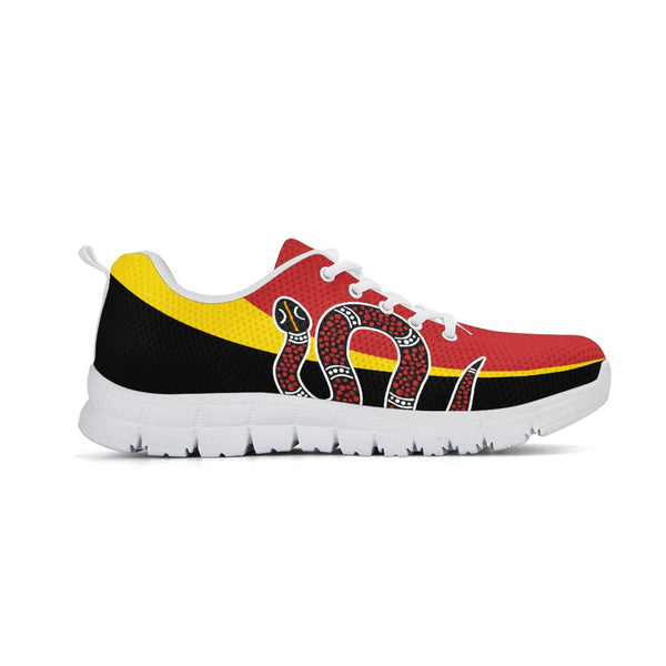 Australian Aboriginal - The Serpant Athletic Sneaker | HOT Sale