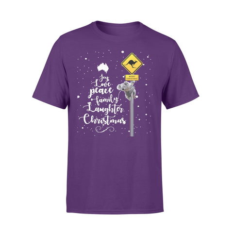 Koala Sign Christmas T shirt Australia K5