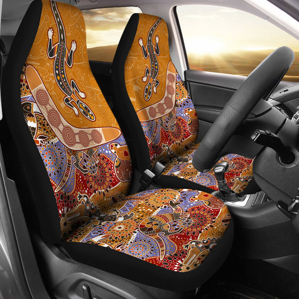 Australia Aboriginal Car Seat Covers Unisersal Fit 01