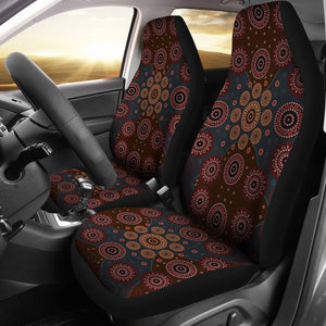 Aboriginal Car Seat Covers Unisersal Fit - Australia Classic