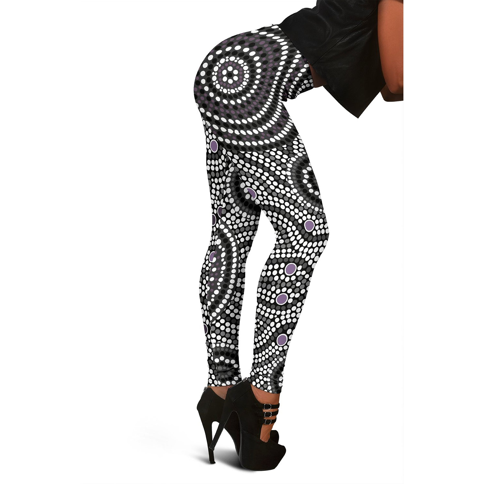 Australia Aboriginal Leggings 04