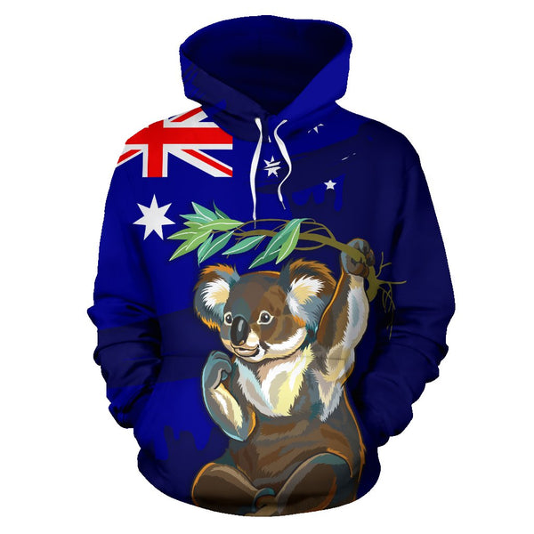 Australia Koala All Over Hoodie