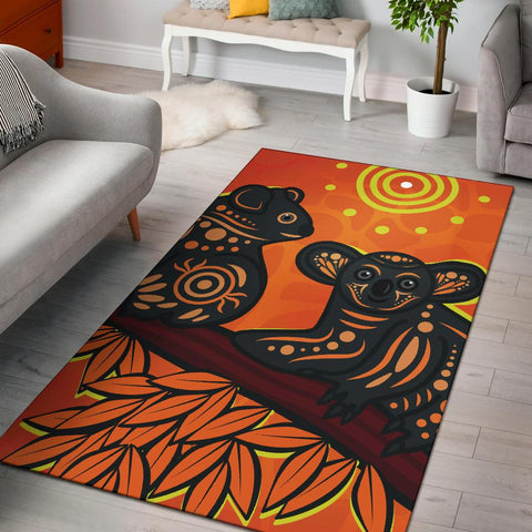 1stAustralia Aboriginal Area Rug - Aboriginal Dot Painting Art