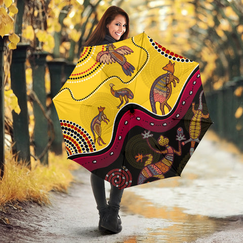 1stAustralia Aboriginal Umbrellas - Indigenous Animals Life Art
