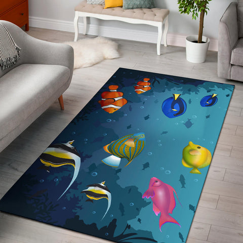 Image of Australia Area Rug Fish