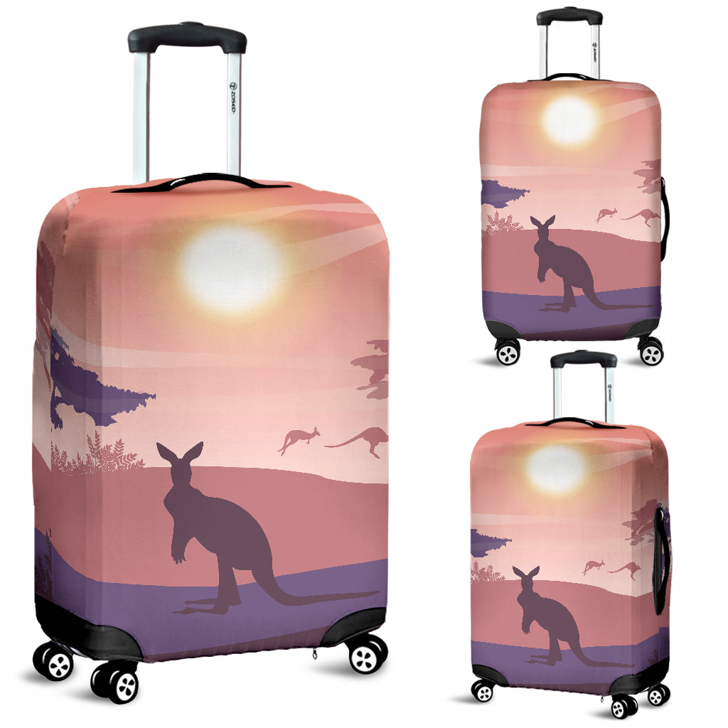 Australia Kangaroo Luggage Cover 09