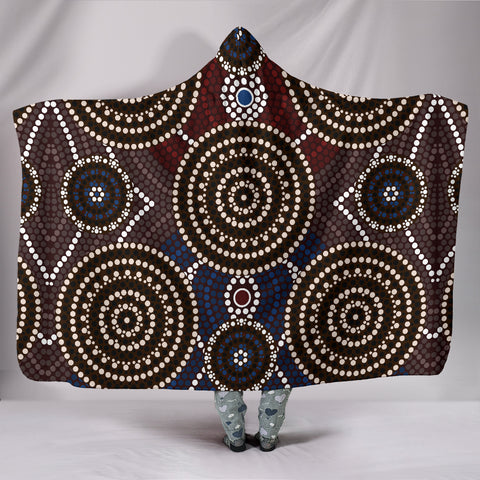 Australia Aboriginal Hooded Blanked 7 TH1