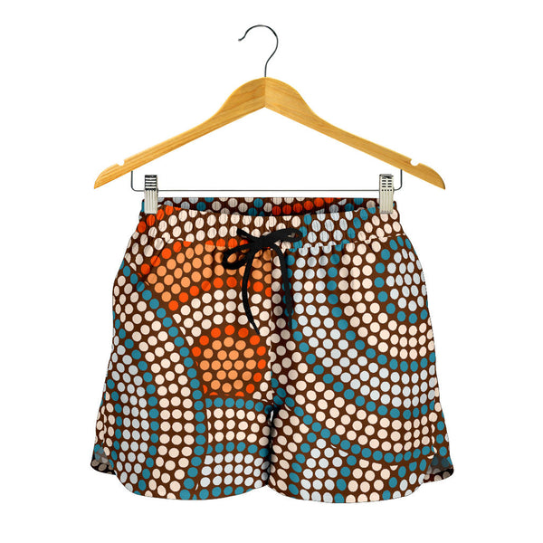 Australia Aboriginal All Over Print Womens Shorts 07