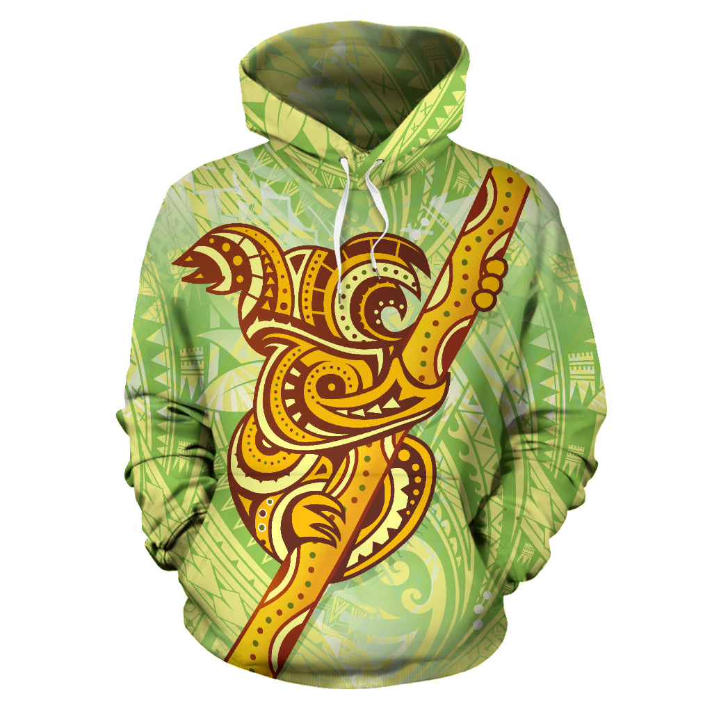 Aboriginal Koala Art With Polynesian Hoodie TH7