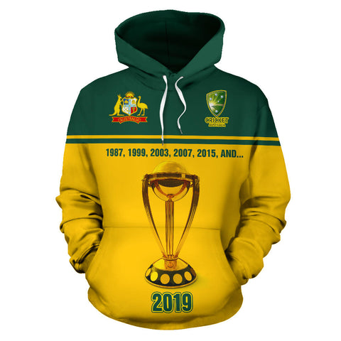 Australia Hoodie - Australia Cricket - 2019 The Champion