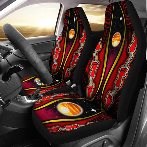1stAustralia Car Seat Covers - Australian Aboriginal Flags Symbolic Meaning - BN19