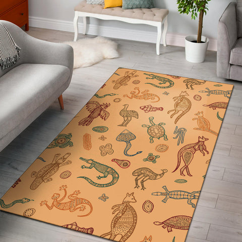 Australia Area Rug Animals