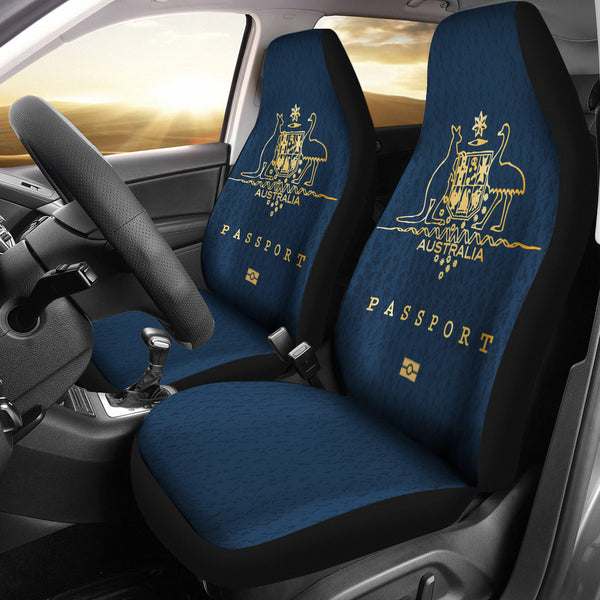 Australia Car Seat Covers Unisersal Fit - Passport Style