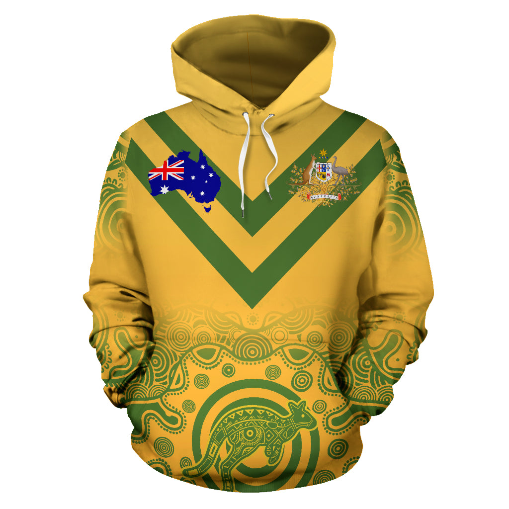 Australia Hoodie National Sport Edition (custom your text) TH0