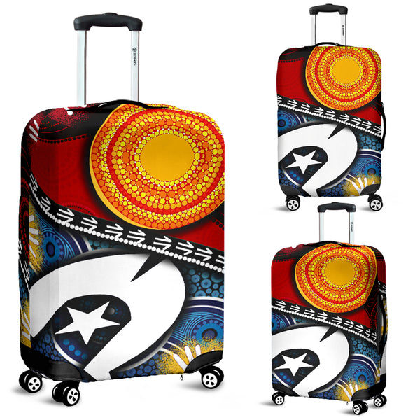 1stAustralia Luggage Cover - Australian NAIDOC Aboriginal and Torres Strait Island Flags - BN19