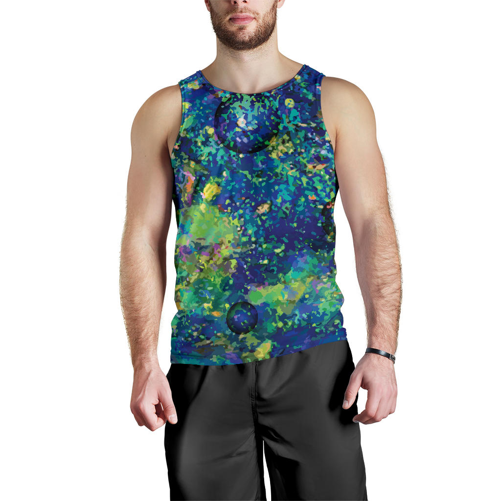 Australia Tank Top (Men) Opal Gemstone