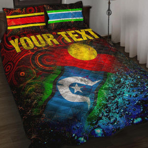 [Custom] 1stAustralia Quilt Bed Set - Always Was, Always Will Be Naidoc Week 2020